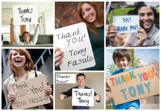 Thanks Tony